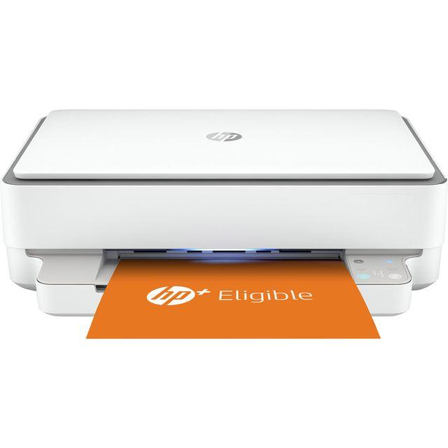 HP ENVY 6020e All-In-One Inkjet Printer - Grey / White