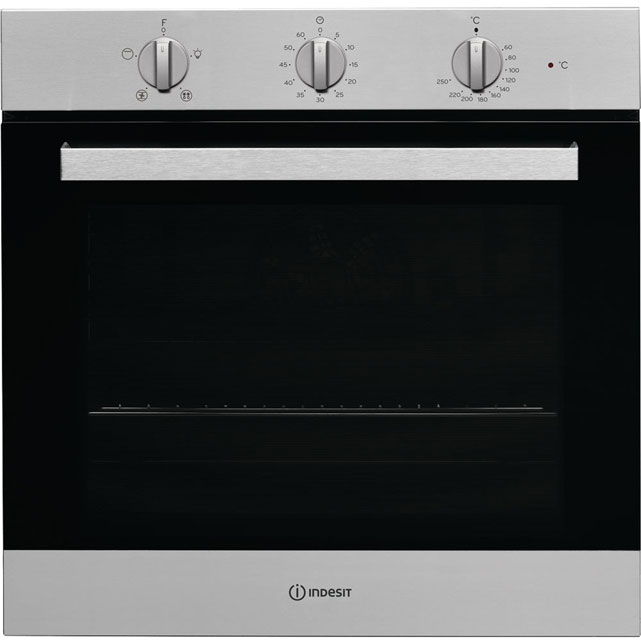 Indesit Aria IFW6330IX Integrated Single Oven in Stainless Steel