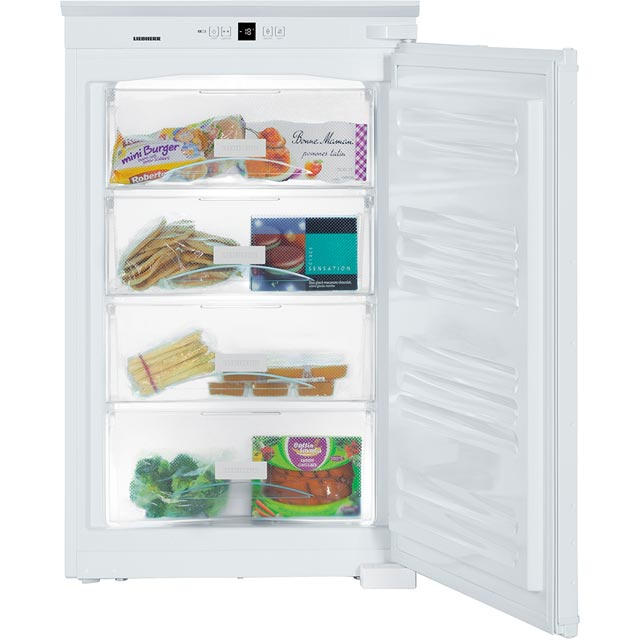 Liebherr IGS1624 Built In Upright Freezer - White - IGS1624_WH - 4