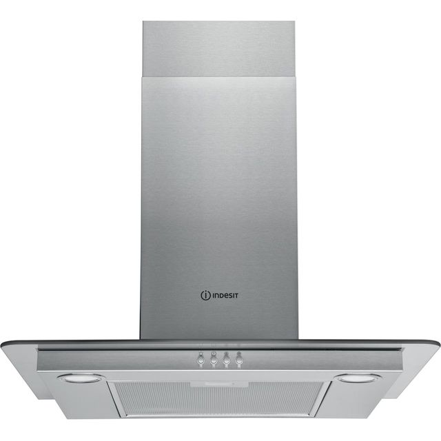 Indesit IHF6.5LMX Built In Chimney Cooker Hood - Stainless Steel - IHF6.5LMX_SS - 1
