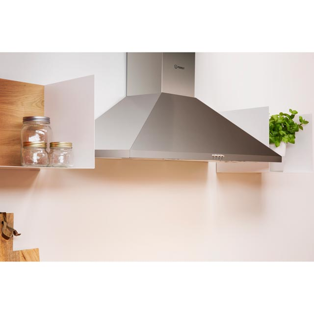 Indesit IHPC9.4LMX Built In Chimney Cooker Hood - Stainless Steel - IHPC9.4LMX_SS - 3