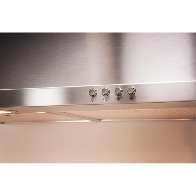 Indesit IHPC9.4LMX Built In Chimney Cooker Hood - Stainless Steel - IHPC9.4LMX_SS - 5