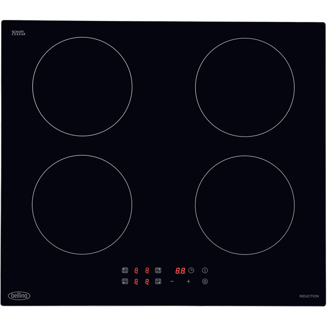 Belling IHT6013 59cm Induction Hob - Black - IHT6013_BK - 1