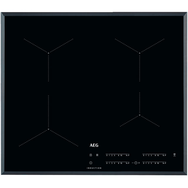 AEG IKB64431FB 59cm Induction Hob - Black - IKB64431FB_BK - 1