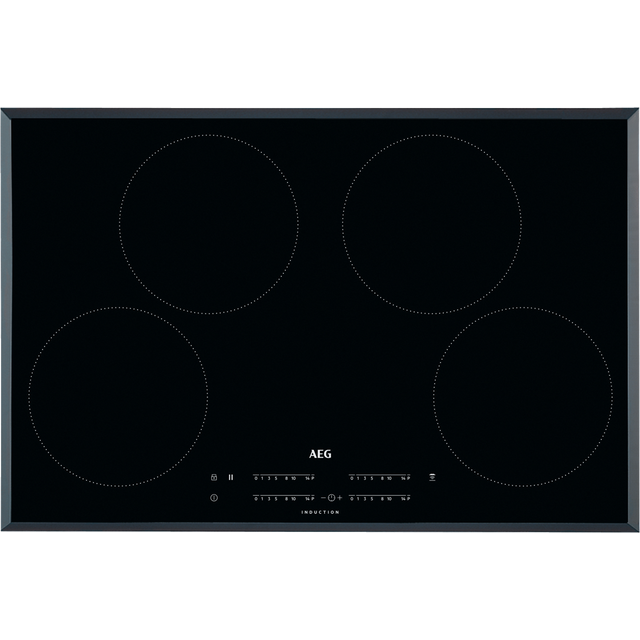AEG IKB84401FB 78cm Induction Hob - Black