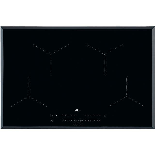 AEG 78cm Induction Hob - Black