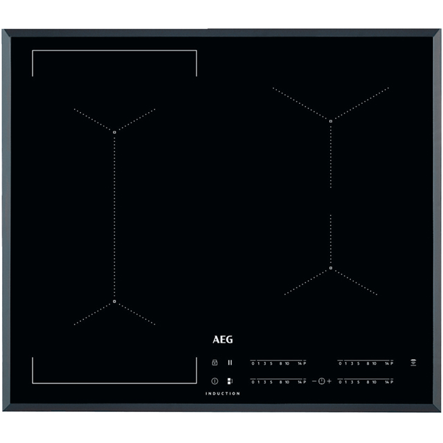 AEG IKE64441FB 59cm Induction Hob - Black - IKE64441FB_BK - 1