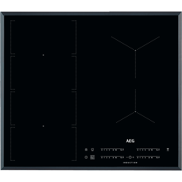 AEG IKE64471FB 59cm Induction Hob - Black - IKE64471FB_BK - 1
