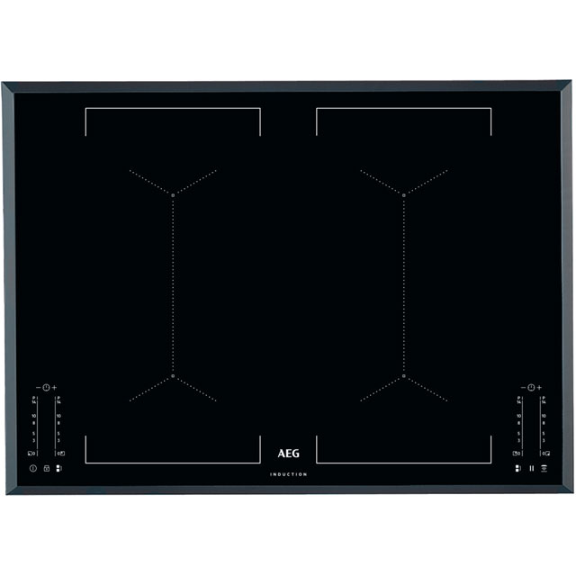 AEG IKE74451FB 71cm Induction Hob - Black - IKE74451FB_BK - 1