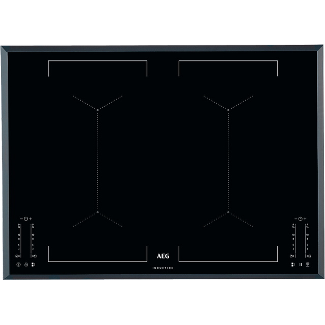 AEG IKE74451FB Built In Induction Hob - Black - IKE74451FB_BK - 1