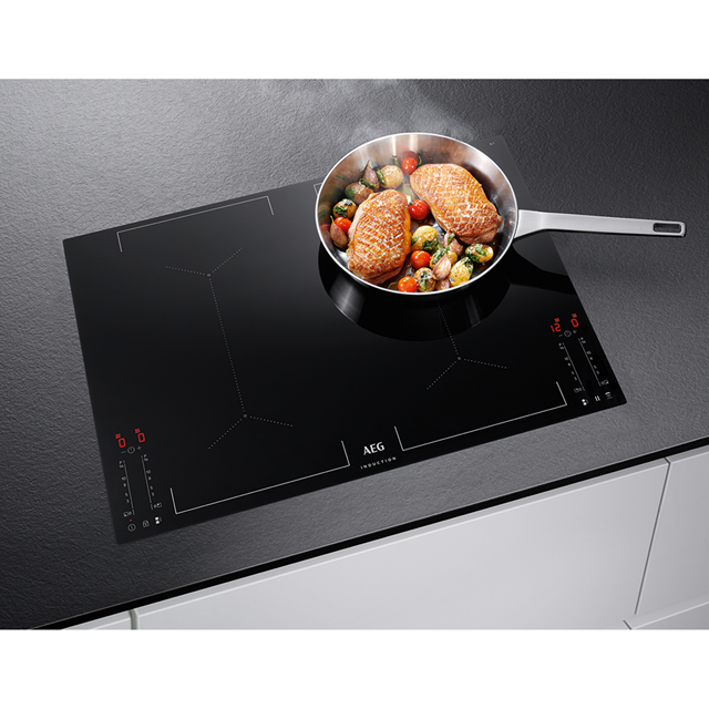 AEG IKE74451FB Built In Induction Hob - Black - IKE74451FB_BK - 4