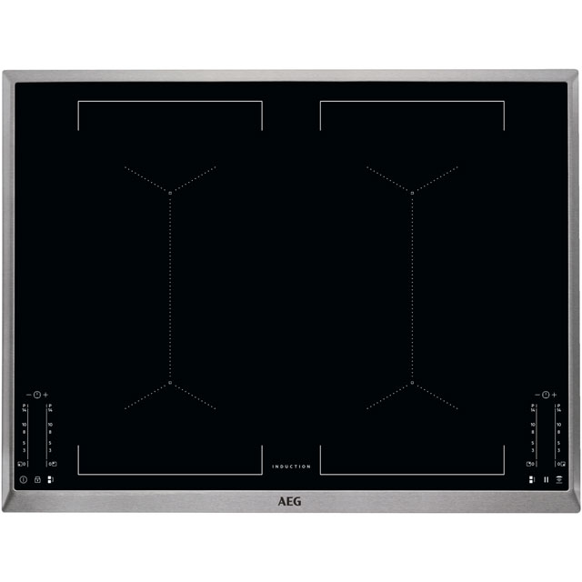 AEG 71cm Induction Hob - Black