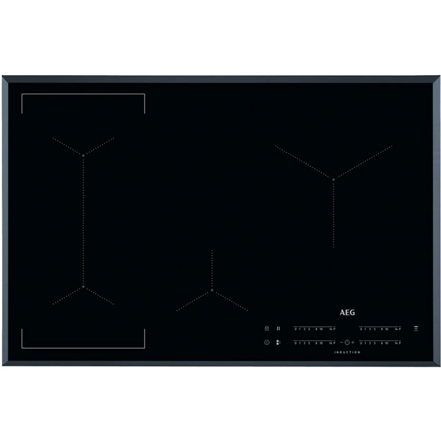 AEG IKE84441FB 78cm Induction Hob - Black - IKE84441FB_BK - 1