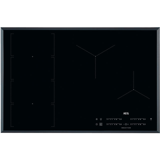 AEG IKE84471FB 78cm Induction Hob - Black