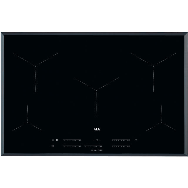 AEG IKE85431FB 78cm Induction Hob - Black