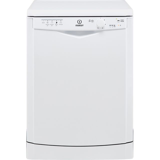 Indesit Eco Time DFG15B1.1 Standard Dishwasher - White - A+ Rated - DFG15B1.1_WH - 1