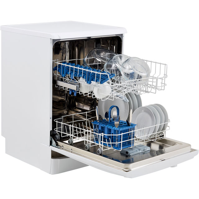Indesit Eco Time DFG15B1K Standard Dishwasher - Black - DFG15B1K_BK - 3