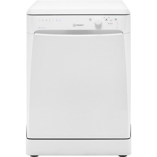 Indesit DFP27T96ZUK Standard Dishwasher - White - A++ Rated