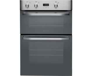 Product image for Hotpoint DHS53CXS Electric Double Oven Stainless Steel