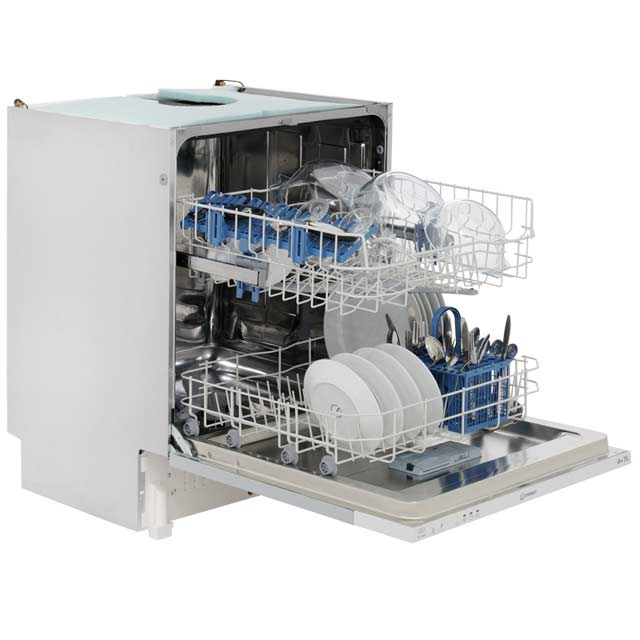 Indesit Eco Time DIF04B1 Fully Integrated Standard Dishwasher - White - DIF04B1_WH - 4