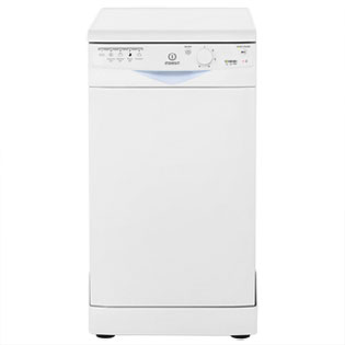 Indesit Eco Time DSR15M9C Slimline Dishwasher