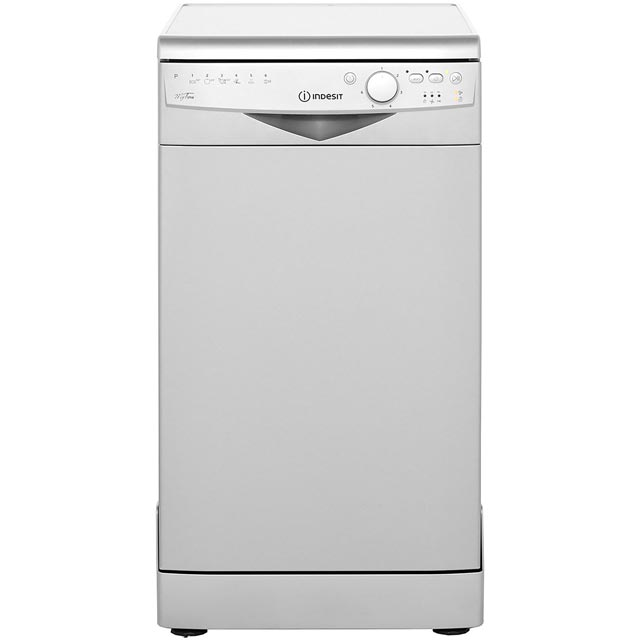 Freestanding slimline dishwasher