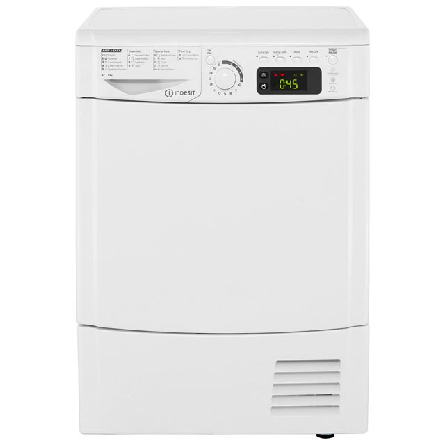 Indesit EDPE945A2ECO Condenser Tumble Dryer - White - EDPE945A2ECO_WH - 1