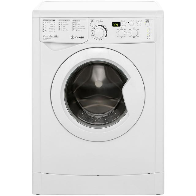 Indesit My Time EWD71452W 7Kg Washing Machine with 1400 rpm - White - A++ Rated - EWD71452W_WH - 1