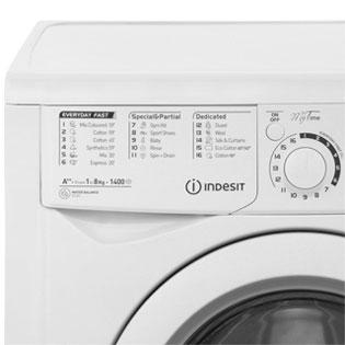 Indesit My Time 8Kg Washing Machine | EWD81482W | ao.com