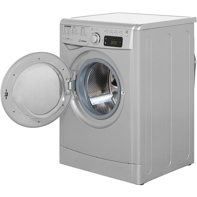 Indesit My Time EWDE7125S 7Kg / 5Kg Washer Dryer - Silver - EWDE7125S_SI - 2