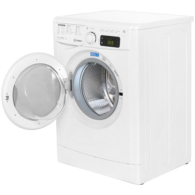 Indesit My Time EWDE7145W Washer Dryer - White - EWDE7145W_WH - 2