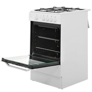 Indesit I5GGW Gas Cooker - White - I5GGW_WH - 2