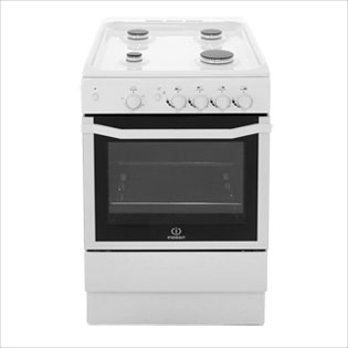 Indesit I5GGW Gas Cooker - White - I5GGW_WH - 4