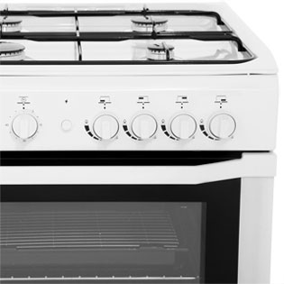 Indesit I6GG1W Gas Cooker - White - I6GG1W_WH - 3