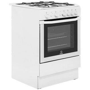 Indesit I6GG1W Gas Cooker - White - I6GG1W_WH - 4