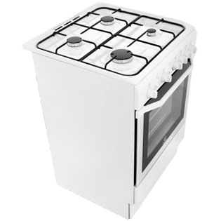 Indesit I6GG1W Gas Cooker - White - I6GG1W_WH - 5
