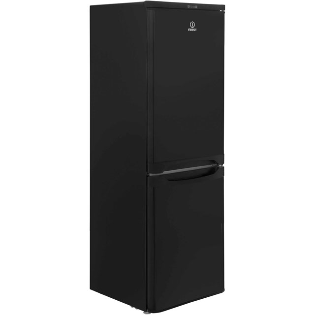 Indesit 60/40 Fridge Freezer - Black - A+ Rated