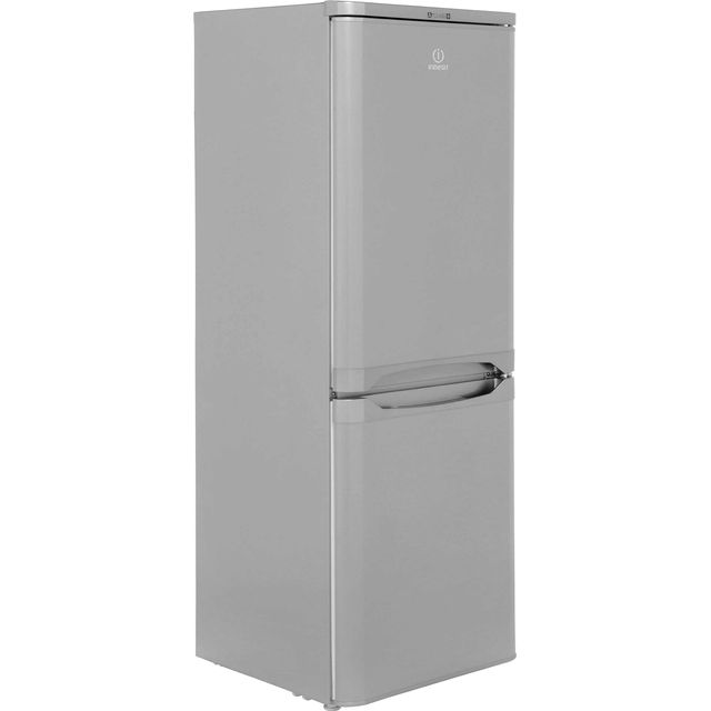Indesit 60/40 Fridge Freezer - Silver - A+ Rated
