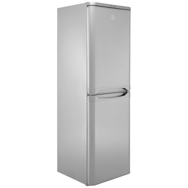 Indesit IBD5517S 50/50 Fridge Freezer - Silver - IBD5517S_SI - 1