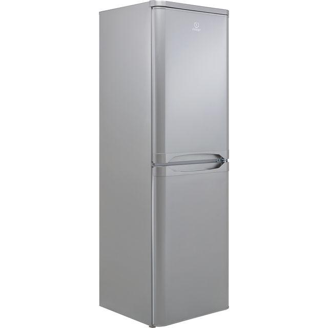 Indesit IBD5517SUK1 50/50 Fridge Freezer - Silver - F Rated