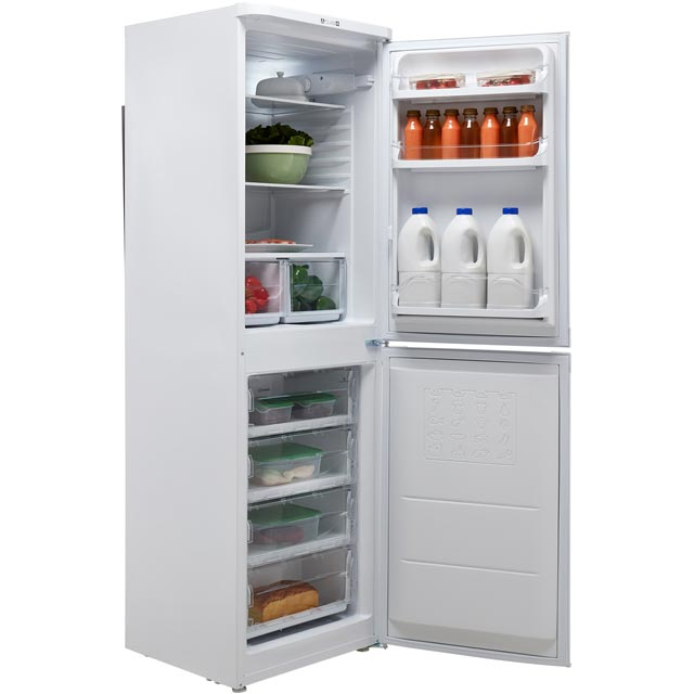 Indesit IBD5517S 50/50 Fridge Freezer - Silver - IBD5517S_SI - 2