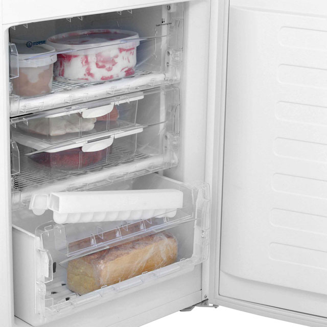 Indesit IBD5517W 50/50 Fridge Freezer - White - IBD5517W_WH - 5