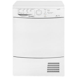Indesit IDCL85BH Free Standing Condenser Tumble Dryer in White