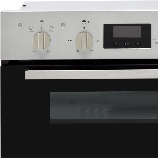 Indesit Aria IDU6340BL Built Under Double Oven - Black - IDU6340BL_BK - 5