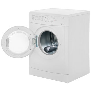 Indesit Eco Time IDVL75BR Vented Tumble Dryer - White - IDVL75BR_WH - 2