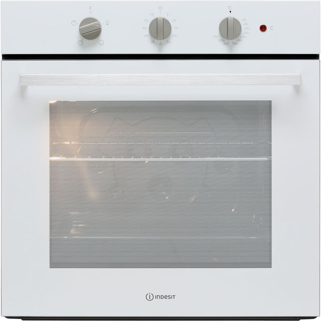 Indesit Aria IFW6230IX Built In Electric Single Oven - Stainless Steel - IFW6230IX_SS - 1