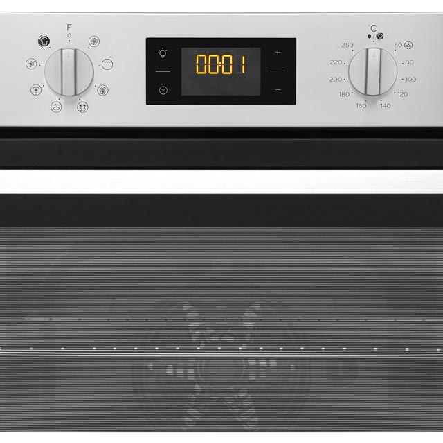Indesit Aria IFW6340BL Built In Electric Single Oven - Black - IFW6340BL_BK - 5
