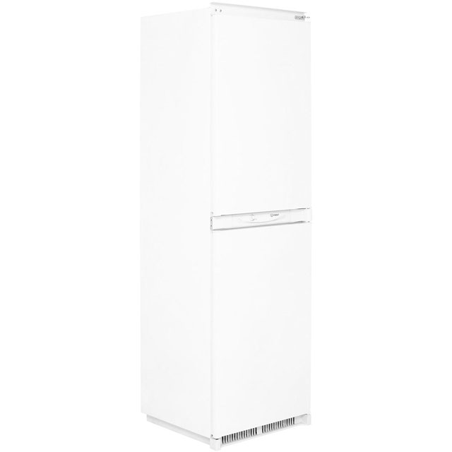 Indesit INC325FF.1 Integrated 50/50 Frost Free Fridge Freezer with Sliding Door Fixing Kit - White - A+ Rated