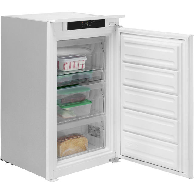 Indesit INF901EAA.1 Integrated Upright Freezer with Sliding Door Fixing Kit - A+ Rated - INF901EAA.1_WH - 1