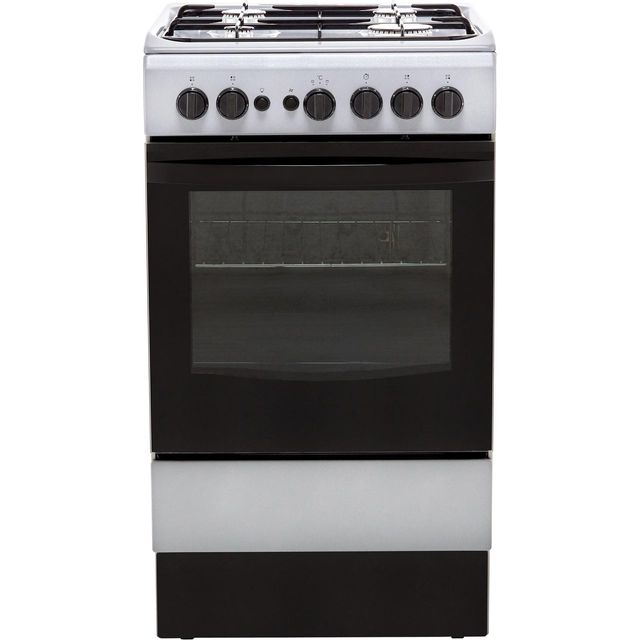 Indesit Cloe IS5G1PMSS 50cm Gas Cooker - Silver - A Rated - IS5G1PMSS_SS - 1